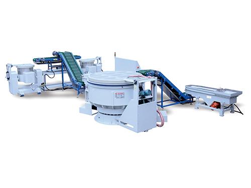 VB-1200L全(quan)自動振動拋光清洗脫水生產線