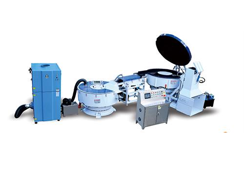 VB-A-1200L全(quan)自動振動研磨迎接、清洗穷逛、烘干生產線